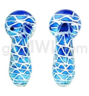 "I/O 4.5"" Spoon Heavy Blue/ White"