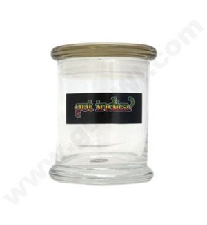 DISC Glass Cali Jar Venti Got Indica? 3/4 oz.
