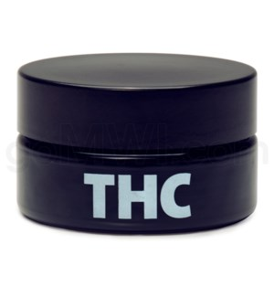 Glass Jar 420 UV Concentrate 100ml-THC