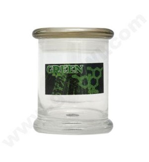 DISC Glass Cali Jar Venti 420 Formula 3/4 oz.