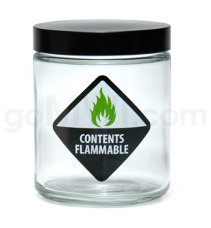 DISC Jar 420 Screw Top 1/4oz-Contents Flammable