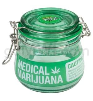 Glass Jar Glass Jars Green  Medical Sign