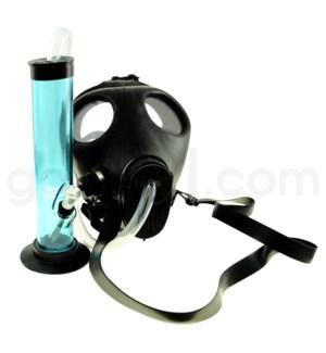 Gas Mask black w/acrylic wp