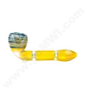 DISC *O/S 5'' Fumed Sherlock with green and red rings