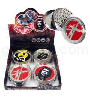 "DISC 3"" 3pc Jumbo Metal Logo 4/15/60"