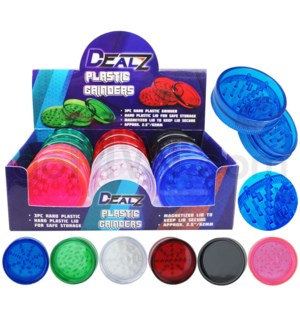 "Grinder: DEALZ  2.25 "" / 57mm  2 Pc Acrylic"