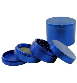 "DISC Grinder 2.5"" CNC 4pc Blue w/screen"