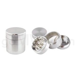 "DISC Grinder 4pc 1.5"" CNC Silver"