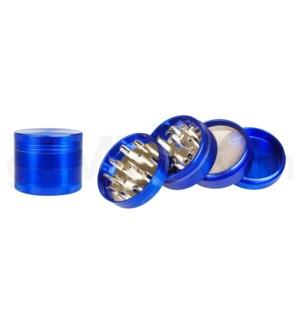 """Grinder 4pc 2.0"""" CNC Blue"""