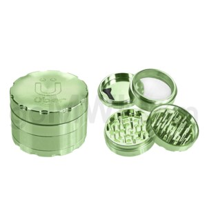 "Uber Grinder 4 pc CNC 40mm 1.5"" Green 10PC/BX"