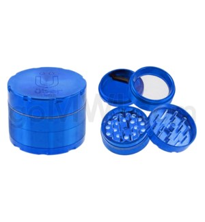 "Uber Grinder 4 pc CNC 50mm 2"" Blue 10PC/BX"