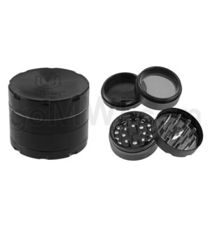 "Uber Grinder 4 pc CNC 50mm 2"" Black 10PC/BX"