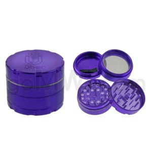 "Uber Grinder 4 pc CNC 50mm 2"" Purple 10PC/BX"