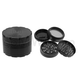 "Uber Grinder 4 pc CNC 62mm 2.5"" Black 10PC/BX"