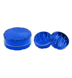 "Uber Grinder 2 pc CNC 50mm 2"" Blue 10PC/BX"