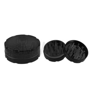 "Uber Grinder 2 pc CNC 50mm 2"" Black 10PC/BX"