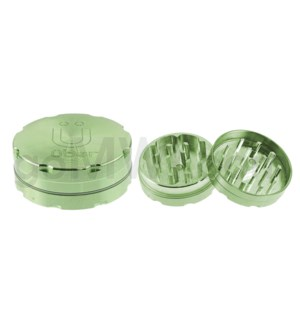 "Uber Grinder 2 pc CNC 50mm 2"" Green 10PC/BX"