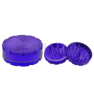 "Uber Grinder 2 pc CNC 62mm 2.5"" Purple 10PC/BX"
