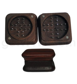 "Grinder 2pc 2.5"" Wood Magnetic"