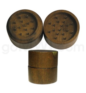 "Grinder 2pc 2"" Wood pin Cylindrical"