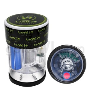 Wakit Electric Grinder LED Lights Rechargable - Clear