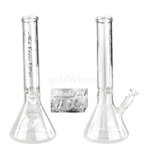 "The Heavy Hitter GOG-15"" (50x5mm) Beaker Clear Ice Pinch"