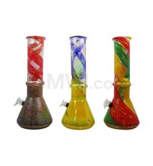 "12"" Soft Glass 6/cs Assorted"