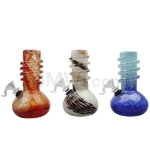 "6"" Soft Glass 24/cs Assorted"