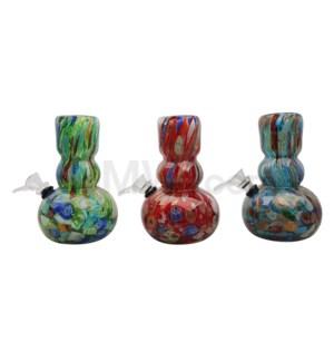"6"" Soft Glass 12/cs Assorted"
