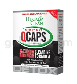 Herbal Clean Super Q Caps 4ct