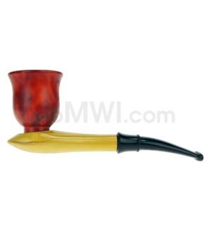 """5-5.5"""" Wooden Sherlock Pipe w/box"""