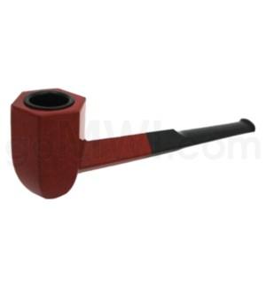 """4.5-5"""" Wooden Sherlock Pipe w/box"""