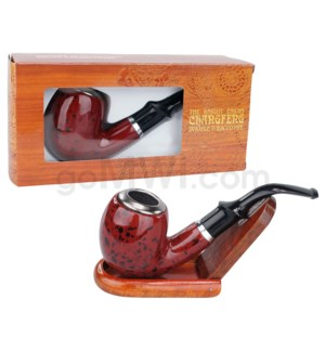 """4.5"""" Pipe: Durable Wooded Tobacco Pipe"""