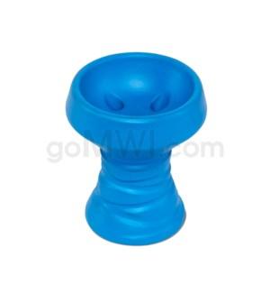 Amira Hookah Bowl Black Stone - Blue