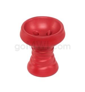 Amira Hookah Bowl Black Stone - Red