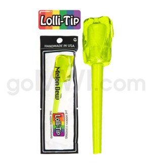 Lolli-Tip Candy Hookah Mouth Tips 100CT/BG Black-Melon Dew