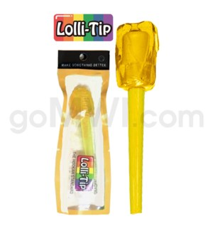 Lolli-Tip Candy Hookah Mouth Tips 100CT/BG -Golden Guava