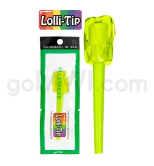 Lolli-Tip Candy Hookah Mouth Tips 100CT/BG -Mr. Freeze