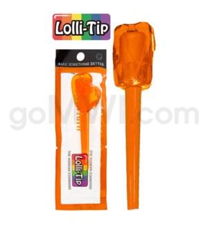 Lolli-Tip Candy Hookah Mouth Tips 100CT/BG -Tutti Frutti