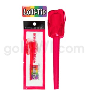 Lolli-Tip Candy Hookah Mouth Tips 100CT/BG -Watermelon Glaze