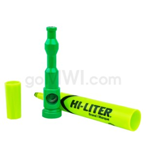 "5-5.5"" HI-LIGHTER Pipe KIT GREEN"