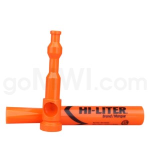 "5-5.5"" HI-LIGHTER Pipe KIT ORANGE"