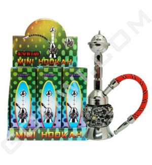 DISC Hookah Glow in The Dark 9pcs/bx 1-HS 7""