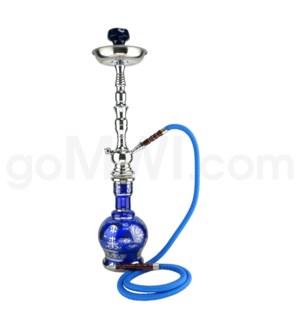 "DISC Hookah Premium 1-HS-27"" Shah Blue"