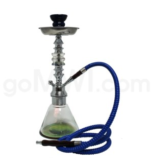 "Hookah 1-HS 13"" Rainbow 12/cs w/Case"