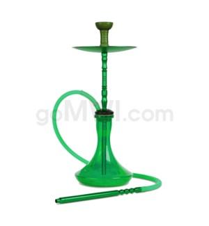 "Hookah 1-HS 23"" Amira Smoke Staxx - Green"