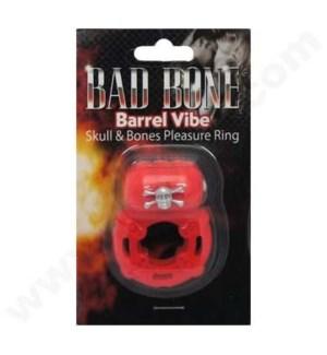 Bad Bones Barrel - Red