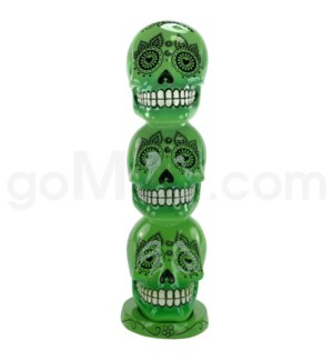 Incense Burner Day of the Dead Tower - Green    (8/20/160)