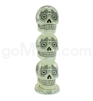 Incense Burner Day of the Dead Tower - White   (8/20/160)