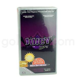 Juicy Jay's 1 1/4'' Rolling Paper-Black Berrylicious 32pk 24c